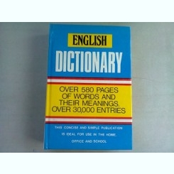 ENGLISH DICTIONARY. OVER 580 PAGES OF WORDS AND THEIR MEANINGS
