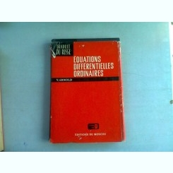 EQUATIONS DIFFERENTIELLES ORDINAIRES -V. ARNOLD