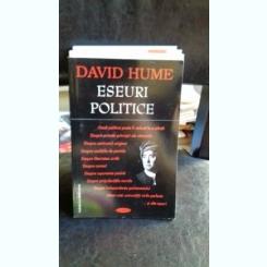ESEURI POLITICE - DAVID HUME