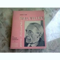 ESSAI SUR PAUL VALERY - JACQUES CHARPIER  (CARTE IN LIMBA FRANCEZA)