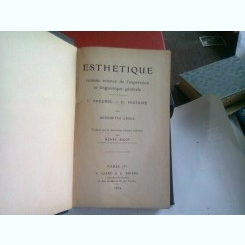 ESTHETIQUE - BENEDETTO CROCE  (ESTETICA)