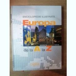 EUROPA DE LA A LA Z . ENCICLOPEDIE ILUSTRATA