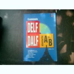 Examenele DELF si DALF nivelurile A si B - Sorina Danaila, Mira-Maria Cuchinschi, Liliana Rusu