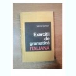 EXERCITII DE GRAMATICA ITALIANA - MARIA OPREAN