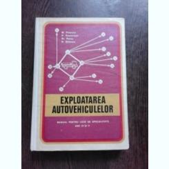 EXPLOATAREA AUTOVEHICULELOR - M. POENARU