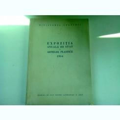 EXPOZITIA ANUALA DE STAT A ARTELOR PLASTICE 1954