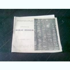EXPOZITIA NICOLAE DRAGUSIN - IANUARIE 1967