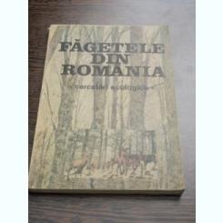 FAGETELE DIN ROMANIA - MIHAELA PAUCA COMANESCU