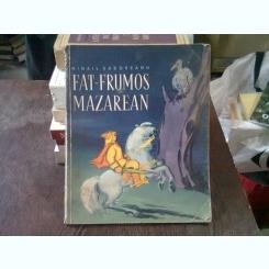 FAT FRUMOS MAZAREAN - MIHAIL SADOVEANU