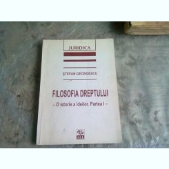 FILOSOFIA DREPTULUI - STEFAN GEORGESCU  VOL.I