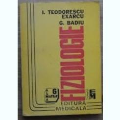 FIZIOLOGIE - I, TEODORESCU