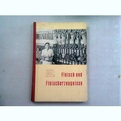 FLEISCH UND FLEISCHERZEUGNISSE - KRUGER  (CARNE SI PRODUSE DIN CARNE)