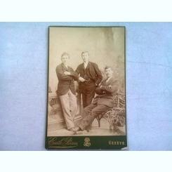FOTOGRAFIE ANII 1900, REALIZATA DE EMILE PRICAM - GENEVA