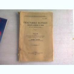 FRACTURILE ROTULEI. STUDIU MEDICO LEGAL - ARTEMIZA VASILESCU  (TEZA DE DOCTORAT)
