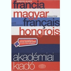 FRANCIA MAGYAR FRANCAIS HONGROIS - BARDOSI VILMOS  (PETIT DICTIONNAIRE)