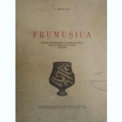 FRUMUSICA. VILLAGE PREHISTORIQUE A CERAMIQUE PEINTE DANS LA MOLDAVIE DU NORD ROUMANIE DE C. MATASA 1946
