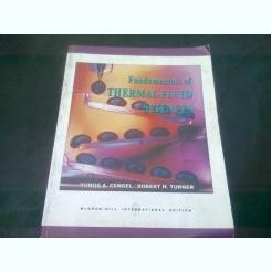 FUNDAMENTALS OF THERMAL-FLUID SCIENCES - YUNUS A. CENGEL  (CARTE IN LIMBA ENGLEZA)