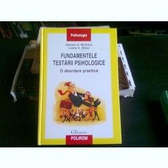 FUNDAMENTELE TESTARII PSIHOLOGICE - SANDRA A. MCINTIRE