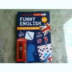 FUNNY ENGLISH, JOCURI SI ENIGME 13+