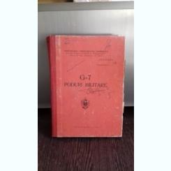 G-7  PODURI MILITARE-COL IONEL SBURLAN-LT. COLONEL ING. CONSTANTIN MOLDOVEANU