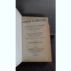 GEODESIE ELEMENTAIRE - R. BOURGEOIS  (GEODEZIE ELEMENTARA)