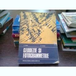 Geodezie si fotogrammetrie - C. Tudor  (manual pentru licee agricole)