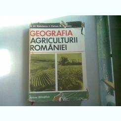GEOGRAFIA AGRICULTURII ROMANIEI - N.AL. RADULESCU