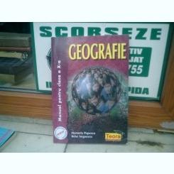 Geografie Manual pentru clasa a X-a - Manuela Popescu si Bebe Negoescu