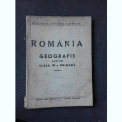 GEOGRAFIE PENTRU CLASA A III-A PRIMARA, ROMANIA
