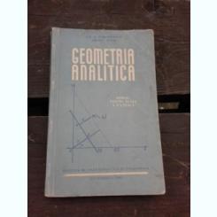 GEOMETRIA ANALITICA, MANUAL PENTRU CLASA X-A REALA - GH.D. SIMIONESCU
