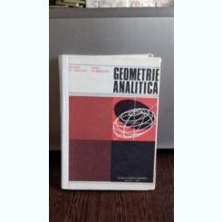 GEOMETRIE ANALITICA - GHEORGHE GH. VRANCEANU