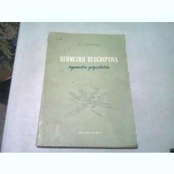 GEOMETRIE DESCRIPTIVA - A.I. OSTROVSKI