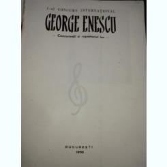George Enescu- concurs international 1958