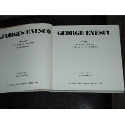 GEORGE ENESCU - Omagiu