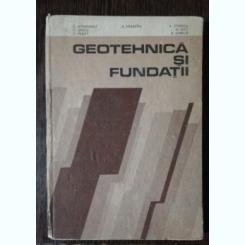 GEOTEHNICA SI FUNDATII - G.ATHANASIU & CO