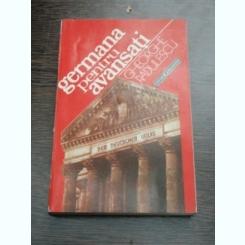 GERMANA PENTRU AVANSATI - GHEORGHE RADULESCU
