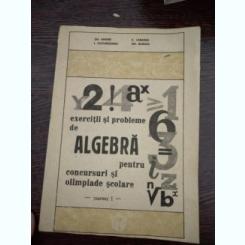 Gh. Andrei, I. Cucurezeanu, C. Caragea - EXERCITII SI PROBLEME DE ALGEBRA PENTRU CONCURSURI SI OLIMPIADE SCOLARE, PARTA I