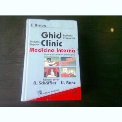 GHID CLINIC , MEDICINA INTERNA DE J. BRAUN , 1997