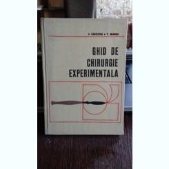 GHID DE CHIRURGIE EXPERIMENTALA - C. CAPATINA