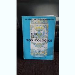 GHID DE DATE TOXICOLOGICE - GH. DANILA