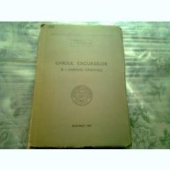 Ghidul excursiilor B-Carpatii Orientali , Asociatia geologica Carpato-balcanica , 1961