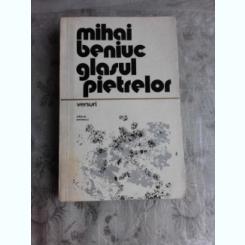 GLASUL PIETRELOR - MIHAI BENIUC  (CU DEDICATIA AUTORULUI)