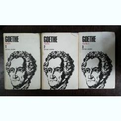 GOETHE OPERE vol I .II III