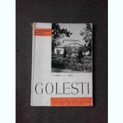 GOLESTI - M. POPESCU  DIN COLECTIA MONUMENTELE PATRIEI NOASTRE