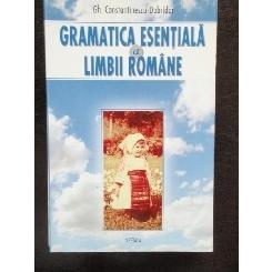 GRAMATICA ESENTIALA A LIMBII ROMANE