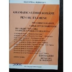 Gramatica limbii romane pentru examene de Admitere