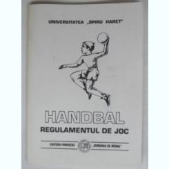 HANDBAL. REGULAMENTUL DE JOC