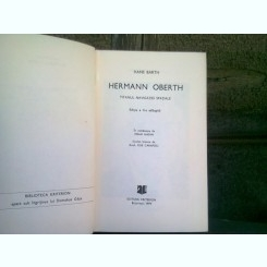 HERMANN OBERTH. TITANUL NAVIGATIEI SPATIALE - HANS BARTH