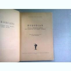 HERODIAN-Istoria Imperiului Roman dupa moartea lui Marcu Aureliu