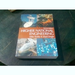 HIGHER NATIONAL ENGINEERING - MIKE TOOLEY  (CARTE IN LIMBA ENGLEZA)